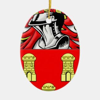 Dillard Coat of Arms Christmas Tree Ornament