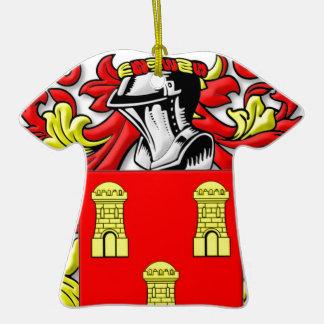 Dillard Coat of Arms Christmas Tree Ornaments