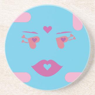 Dilli, The Blue Sponap Coaster.ai Drink Coasters