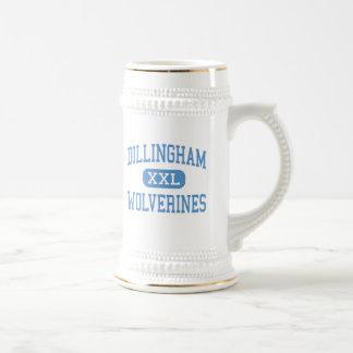 Dillingham - Wolverines - High - Dillingham Alaska Mug