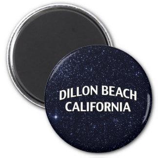Dillon Beach California 6 Cm Round Magnet