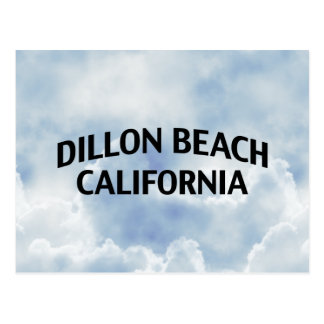 Dillon Beach California Postcard