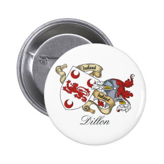Dillon Family Crest 6 Cm Round Badge