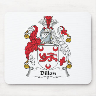 Dillon Family Crest Mouse Pad