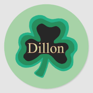 Dillon Family Round Sticker