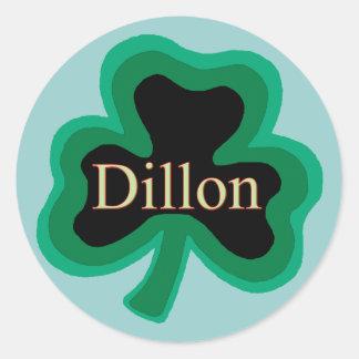 Dillon Family Stickers