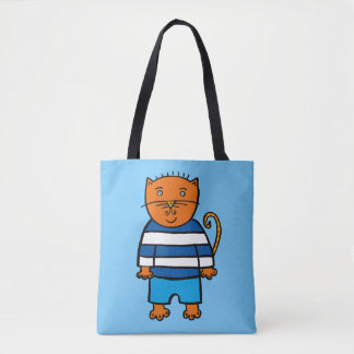 Dillon the Cat Tote Bag