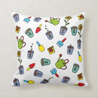 Dillon's Garden Throw Pillow