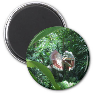 Dilophosaurus Dinosaur in the Wild Magnet