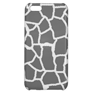 Dim Gray Giraffe Animal Print iPhone 5C Covers