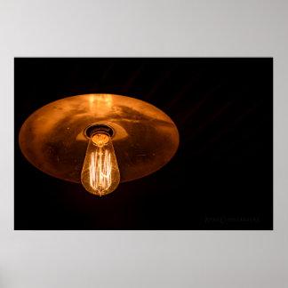 Dim Lamp Poster