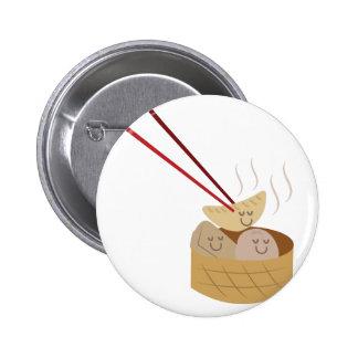 Dim Sum 6 Cm Round Badge