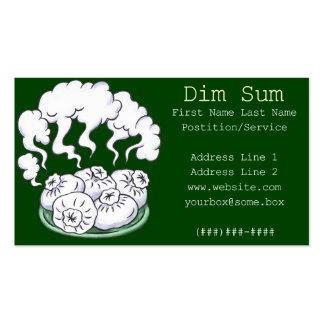 Dim Sum Pack Of Standard Business Cards