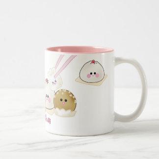 Dim Sum Cup!!! Two-Tone Mug