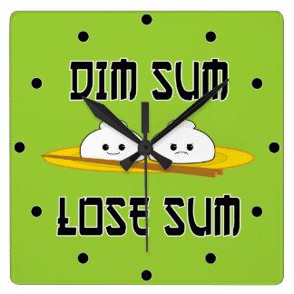 Dim Sum Lose Sum Wallclocks