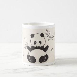 Dim Sum Panda Basic White Mug