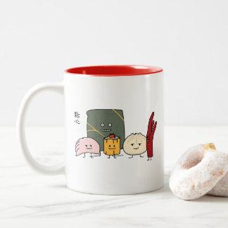 Dim Sum Pork Bao Shaomai Chinese dumpling Buns Bun Two-Tone Coffee Mug