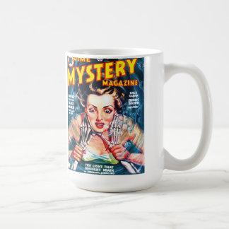 DIME MYSTERY Cool Vintage Pulp Magazine Cover Art Coffee Mug