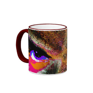Dimensional Stare II Ringer Coffee Mug