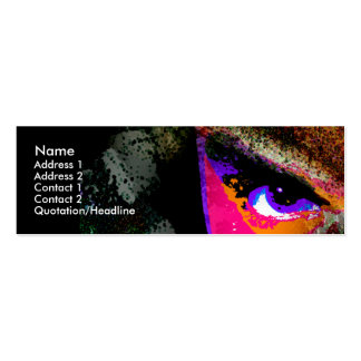 Dimensional Stare Pack Of Skinny Business Cards