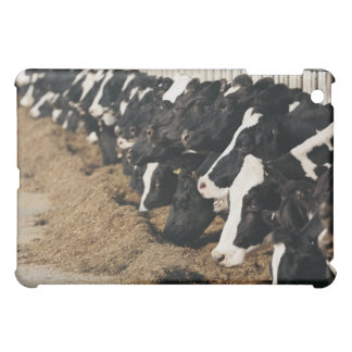 Diminishing Perspective of Cow's Heads Grazing iPad Mini Cases
