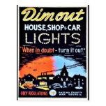 Dimout Postcard
