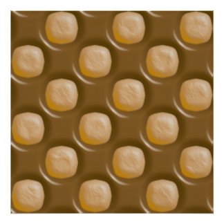 Dimple Dots - Chocolate Peanut Butter Poster
