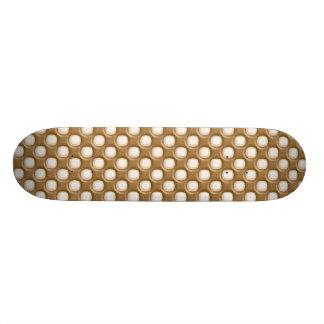 Dimple Dots - Milk Chocolate and White Chocolate Skateboard Decks