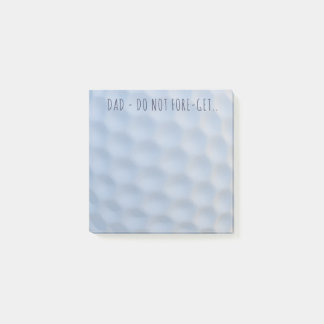Dimpled Golf Ball Post-it® Notes