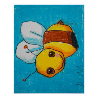 Dina s Bumblebee Poster