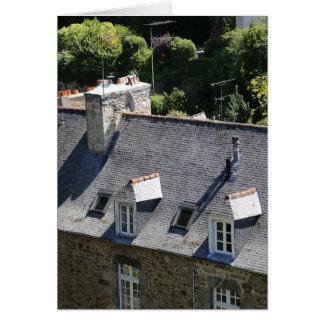 Dinan, Brittany, France Card