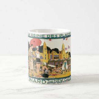 Dinard The New Casino_Vintage Travel Basic White Mug