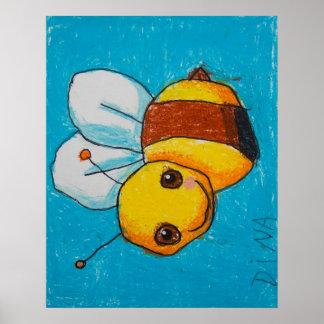 Dina's Bumblebee Poster