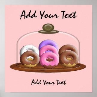 Dina's Doughnuts Poster