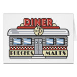 Diner Note Card