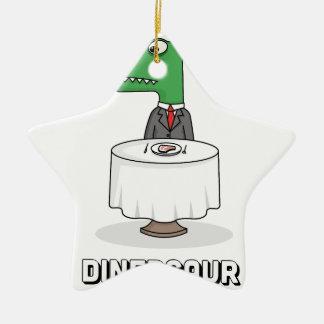 Dinersaur Christmas Ornament