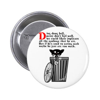 Ding Dong Bell 6 Cm Round Badge