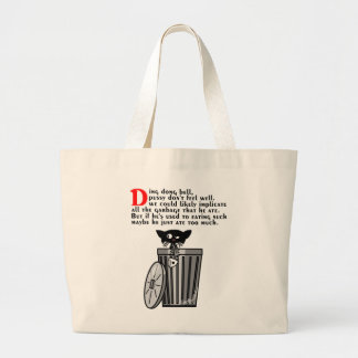 Ding Dong Bell Jumbo Tote Bag