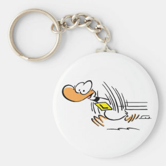 Ding Duck Taking Off Key Ring