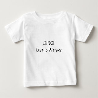 Ding! Level 3 Warrior Baby T-Shirt