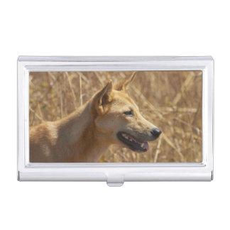 Dingo (Canis lupus dingo) Business Card Holder