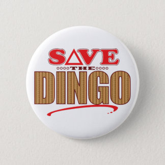 Dingo Save 6 Cm Round Badge