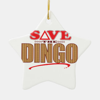Dingo Save Christmas Ornament