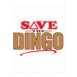Dingo Save Postcard