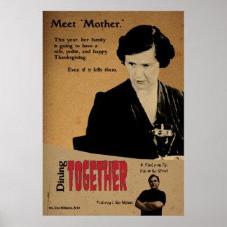 """Dining Together"" Poster"
