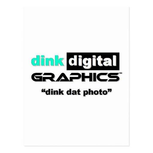 Dink Digital Graphics Post Cards