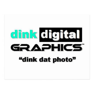 Dink Digital Graphics Postcard