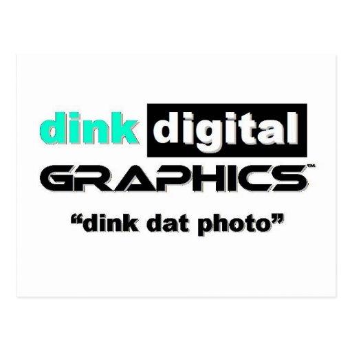 Dink Digital Graphics Postcards