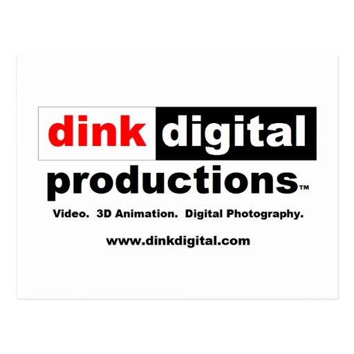 Dink Digital Productions Red Line Gear Postcards