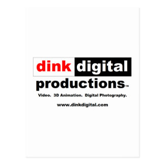 Dink Digital Productions Red Line Gear Postcard